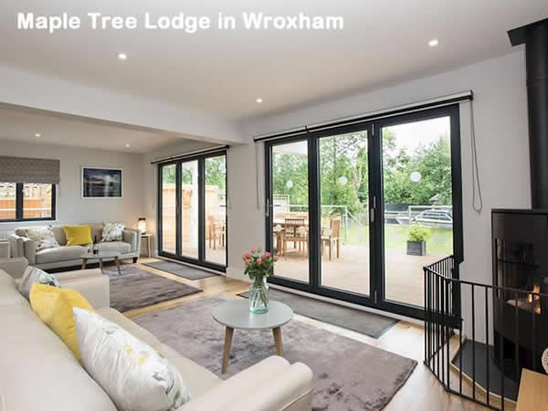 Maple Tree Lodge in Wroxham
